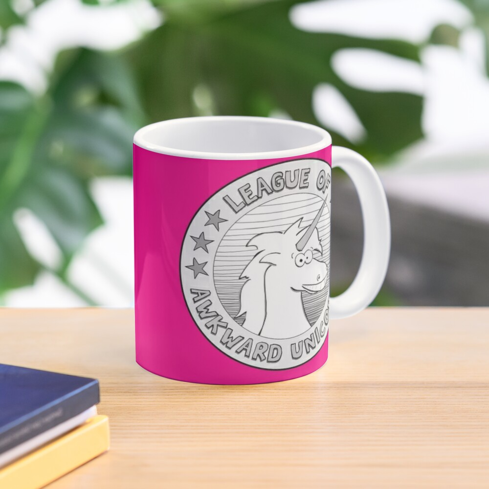 The League of Awkward Unicorns Official Gear Mug