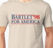 Bartlet for America Slogan Unisex T-Shirt