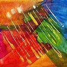 The Pleiades Last Year a watercolor by Dan Vera by danvera