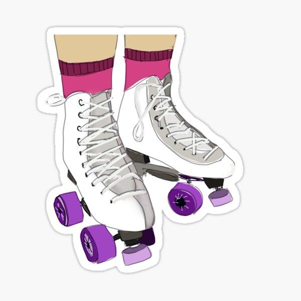 Roller skates  Sticker