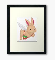 Fluffal Rabbit - Yu-Gi-Oh! Framed Print