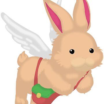 Fluffal Rabbit - Yu-Gi-Oh! by TCF-Store