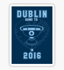All Ireland Football Champions: Dublin (Navy/Blue) Sticker