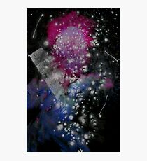 Brush and Ink - 0282 - Glitter and Glam Photographic Print
