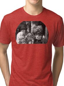 They're watching you  Tri-blend T-Shirt