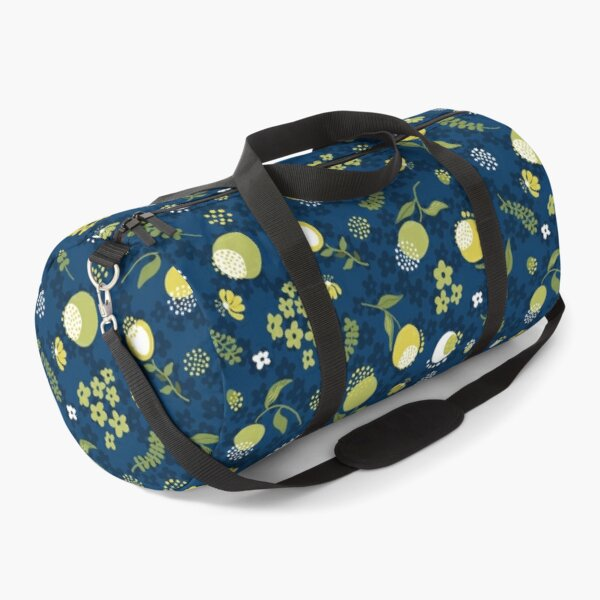Zesty Floral pattern Duffle Bag