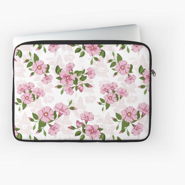 Australia's Sturts Desert Rose pretty pink pattern Laptop Sleeve