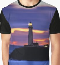 Pigeon Point Lighthouse, California Graphic T-Shirt