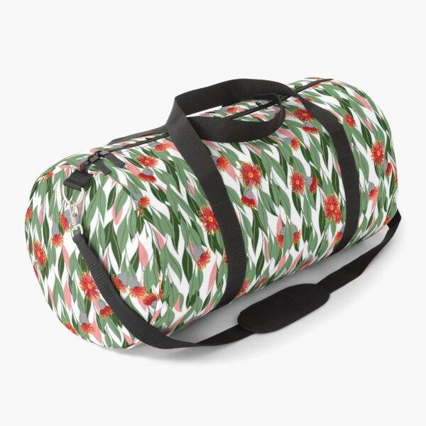 Eucalyptus cascading flowering gum blossom pattern Duffle Bag