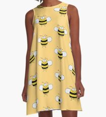 Funny Sweet Baby Bee / Bumble Bee A-Line Dress