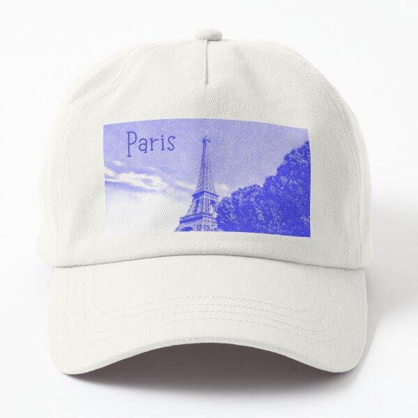 Paris in Purple Dad Hat