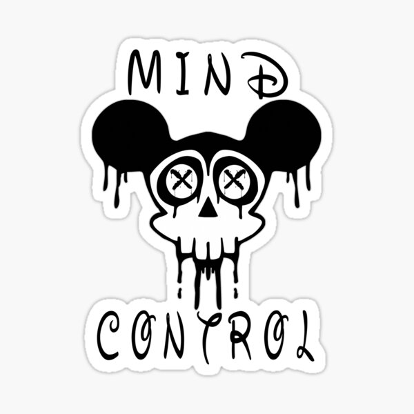 Mind Control Conspiracy Sticker
