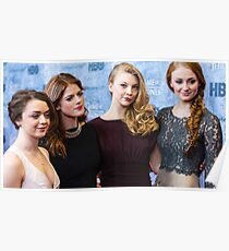 game of thrones girls  Poster