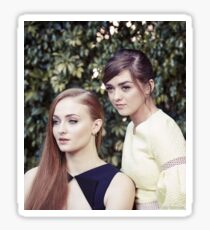 sophie turner and maisie williams / mophie Sticker