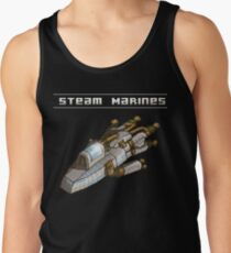 Steam Marines - Transparent Logo Tank Top