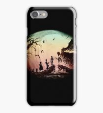 Think Deathly Hallows iPhone Case/Skin