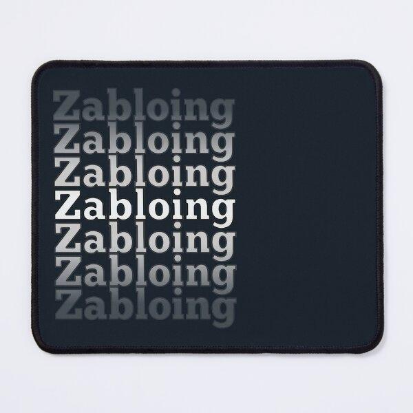 Zabloing Floppa Meme Cat Mouse Pad
