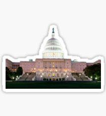 US Capitol Sticker