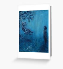 The Swing by 'Donna Williams' Greeting Card