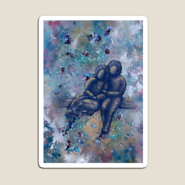 Springtime by 'Donna Williams' Magnet