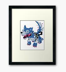 Frightfur Wolf - Yu-Gi-Oh! Framed Print