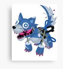 Frightfur Wolf - Yu-Gi-Oh! Canvas Print