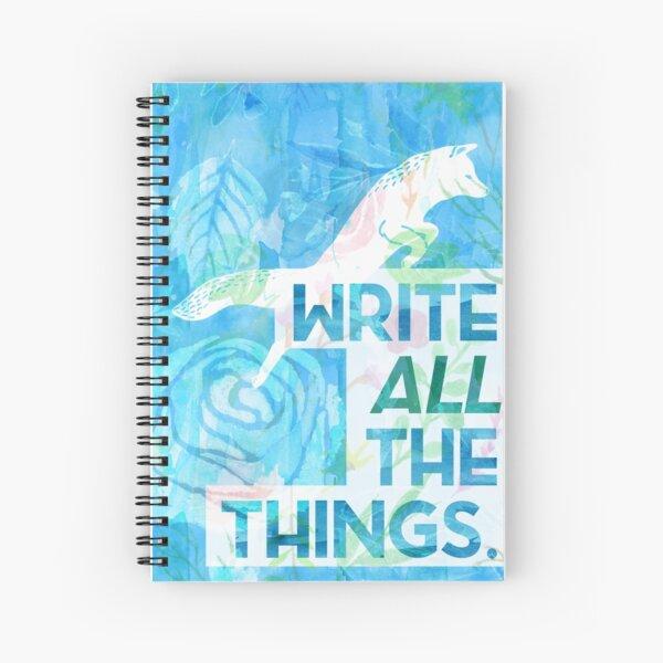 Freezy Fox Spiral Notebook