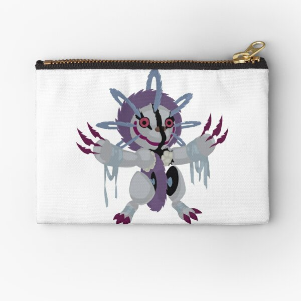 frightfur sabre tooth yu gi oh zipper pouch by tcf store redbubble
