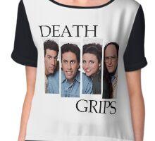 DEATH GRIPS Chiffon Top