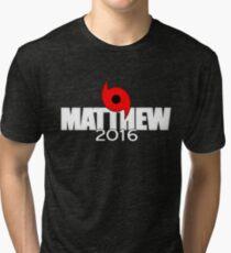Hurricane Matthew 2016 Tri-blend T-Shirt