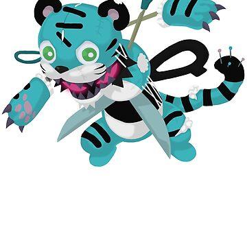 Frightfur Tiger - Yu-Gi-Oh! by TCF-Store