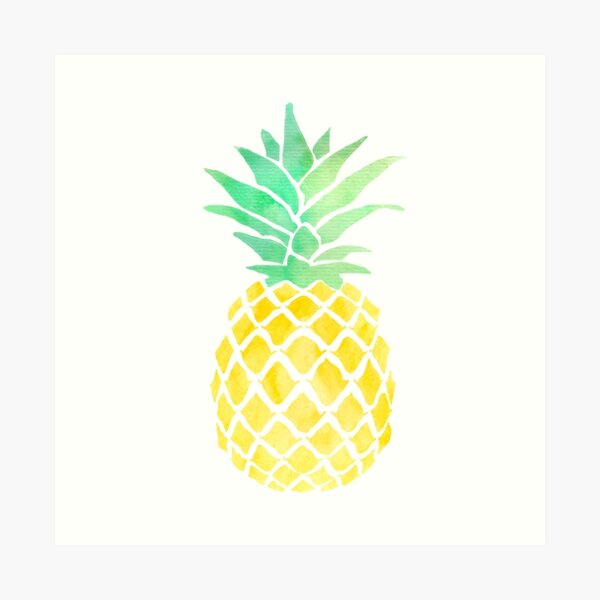 if you were a fruit you'd be a fineapple Art Print