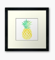 if you were a fruit you'd be a fineapple Framed Print
