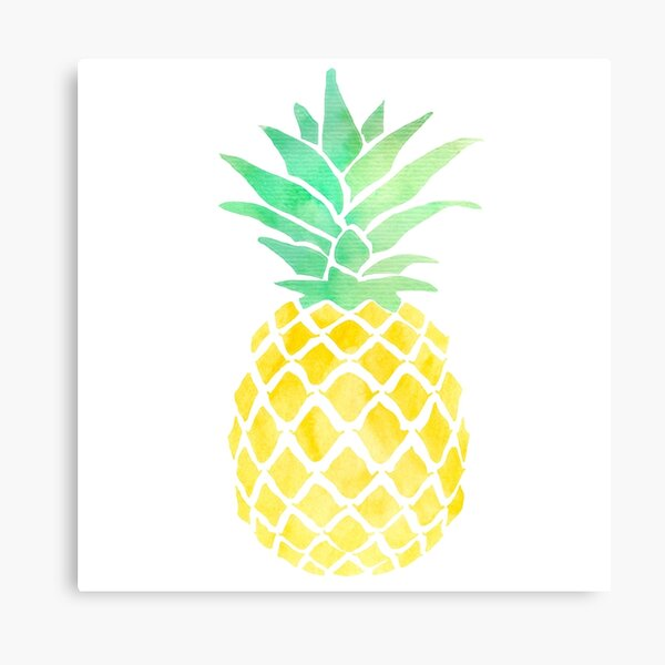 if you were a fruit you'd be a fineapple Canvas Print