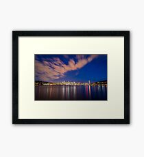 Gas Works Park Viewpoint - Seattle, WA Framed Print