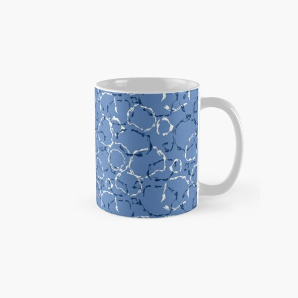 Wonky organic circles, whimsical geo pattern Classic Mug