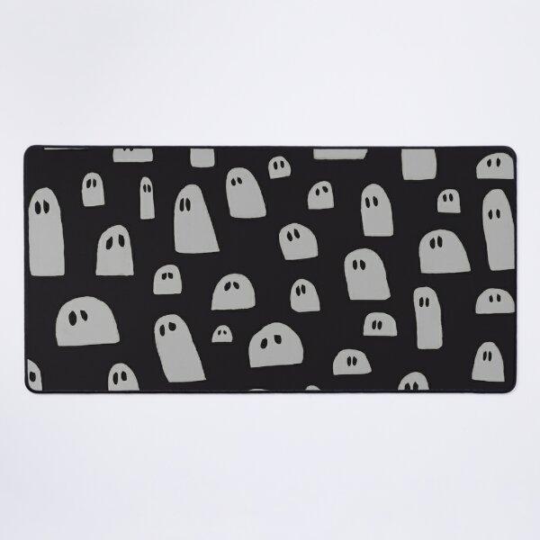 Sad Ghosts Pattern Desk Mat