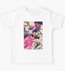 Mixed Flowers with Pink Peonie Kids Clothes