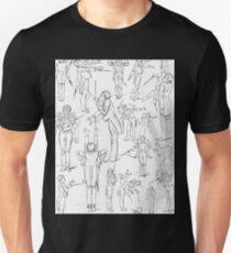 Hans Schließmann Mahler conducting caricature Unisex T-Shirt