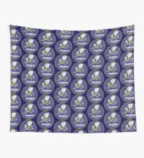 US NAVY SEABEES CAN DO! Mascot Wall Tapestry