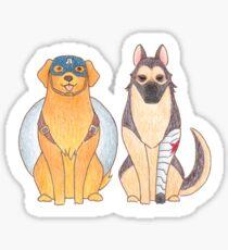 Dog!Avengers03 Sticker