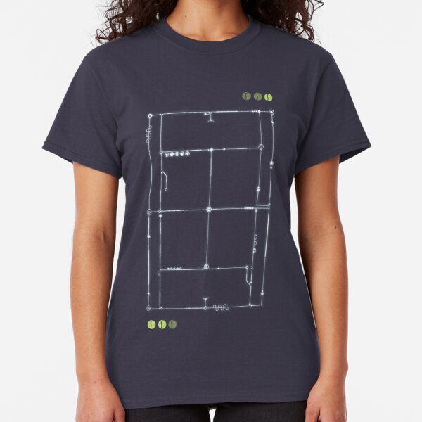 The Tennis Grid Classic T-Shirt