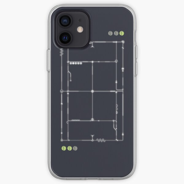 La grille de tennis Coque souple iPhone