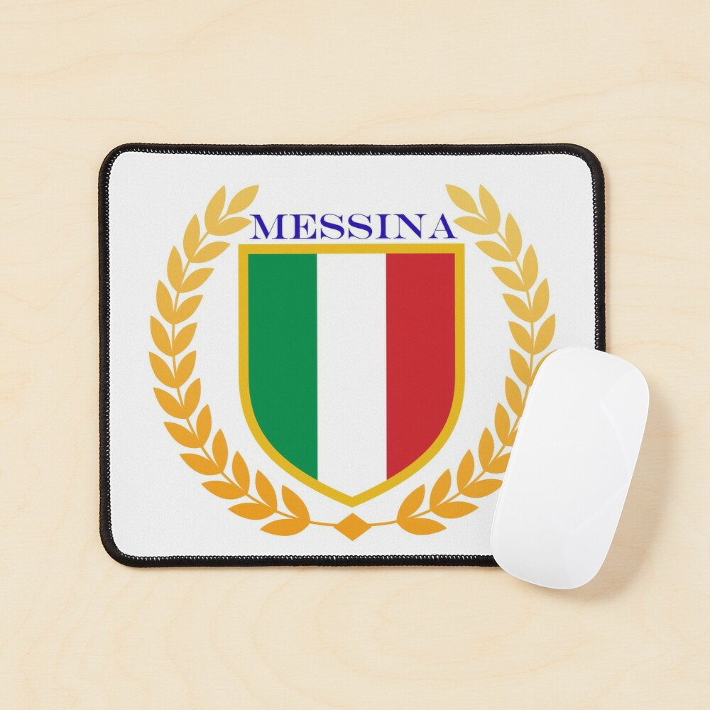 Messina Italy Mouse Pad