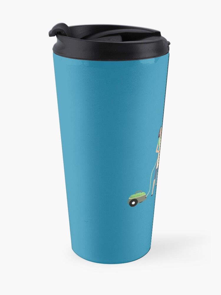 Alternate view of I Finally Found My Soulmate Novelty Vacuum Cleaning Fun Travel Mug