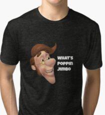 What's poppin jimbo meme Tri-blend T-Shirt