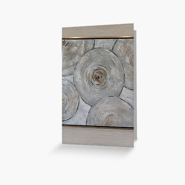 Art Picture Frame Greeting Card