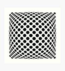 "Polka Dot Op Art - ""Mad Men"" Style Art Print"