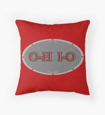 OH-IO OHIO STATE TRADITIONAL FAN CHANT Throw Pillow