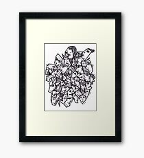 Clear Faces Framed Print